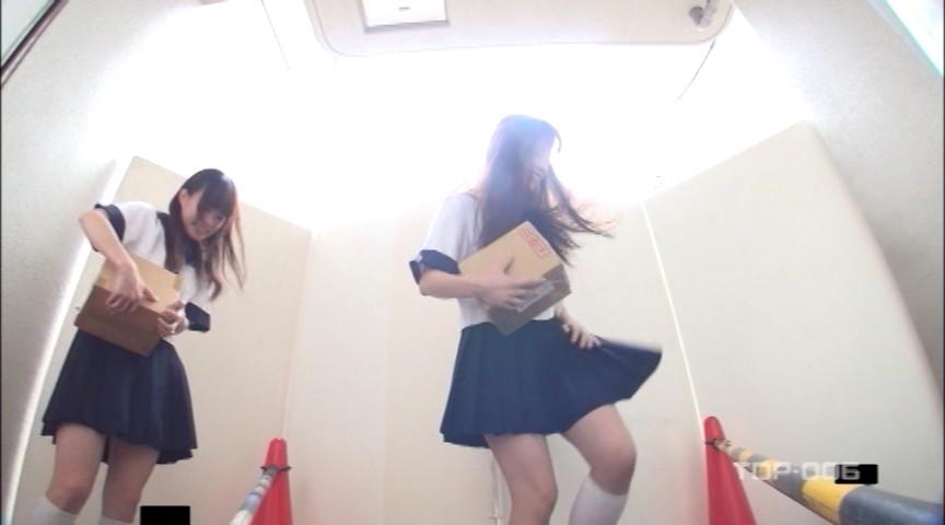 通学女子校生 強風どっきりパンモロ VOL.6 画像 9