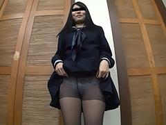 パンチラ:黒パンスト美少女 パンチラ 総集編+撮り下ろし未公開