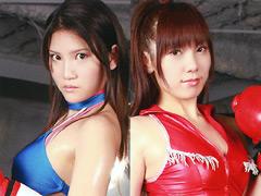 ボクシング対決。敗者決定戦02