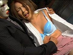 女体いたぶり 腹パンチ02