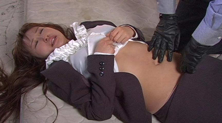 女体いたぶり 腹パンチ01
