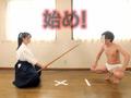 美少女剣道家vs変態キス魔 勝ったら賞金100万円!-4