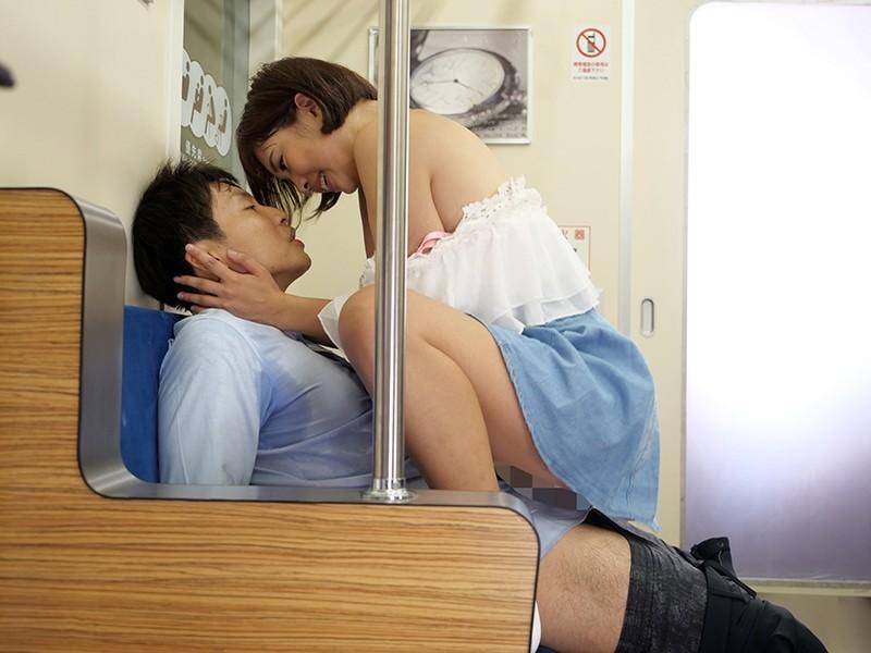 終電車で男を誘惑して味見 高杉麻里