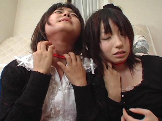 美人姉妹首絞めサバイバル、私生きるのサンプル画像