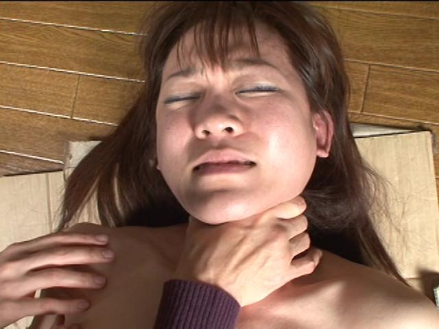 筋肉女の首絞め肉体改造のサンプル画像