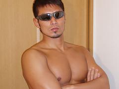 ゲイ・ゲンマ・淫裸(みだら)第一裸 白と黒・・genma-0221