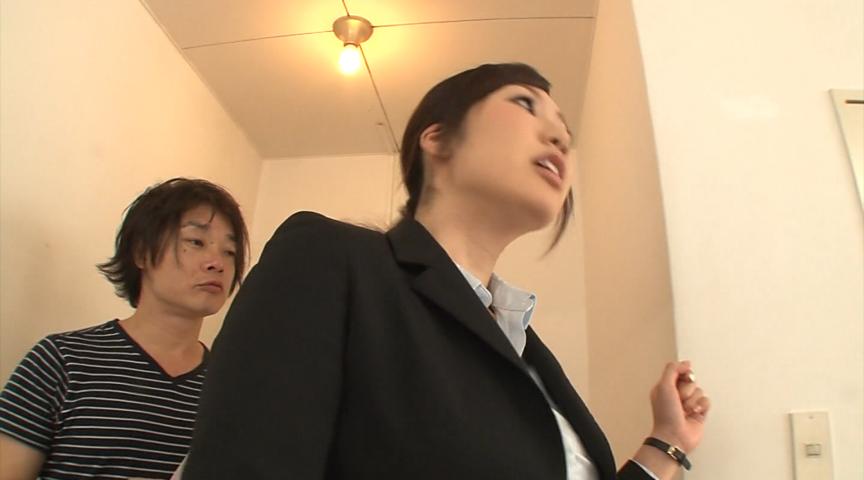 美尻パンスト不動産レディと黒スト着衣SEX 画像 16