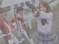 国民的アイドル巨大ヒロイン失禁マスクオフハードレイプのサムネイルエロ画像No.8