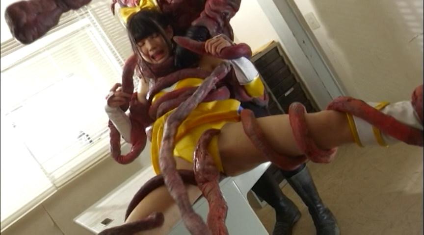 美少女戦士チアナイツ 触手陥落・丸呑み消化地獄 画像 13