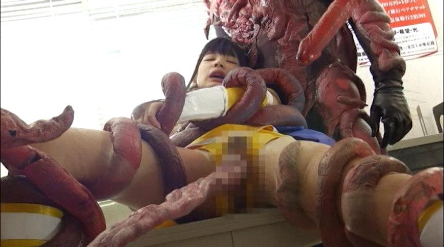 美少女戦士チアナイツ 触手陥落・丸呑み消化地獄 画像 15