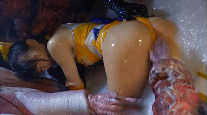 美少女戦士チアナイツ 触手陥落・丸呑み消化地獄 画像 19
