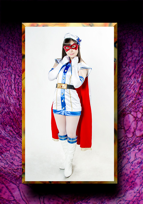HEROINE陥落倶楽部03 魔法美少女戦士フォンテーヌのジャケットエロ画像