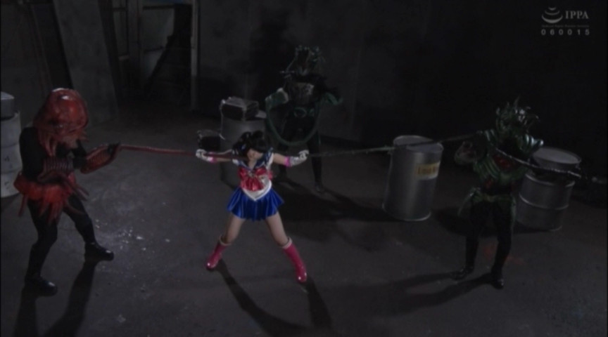 【G1】ヒロイン窒息地獄 美少女戦士セーラーディアナ 画像 7