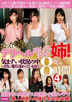 【星奈あい動画】デリヘル呼んだらまさか姉!総集編-8時間(4) -ドラマ