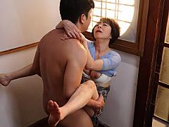 藍川京子:続・異常性交 五十路母と子 其ノ伍 藍川京子