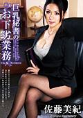 巨乳秘書のお下劣業務 佐藤美紀