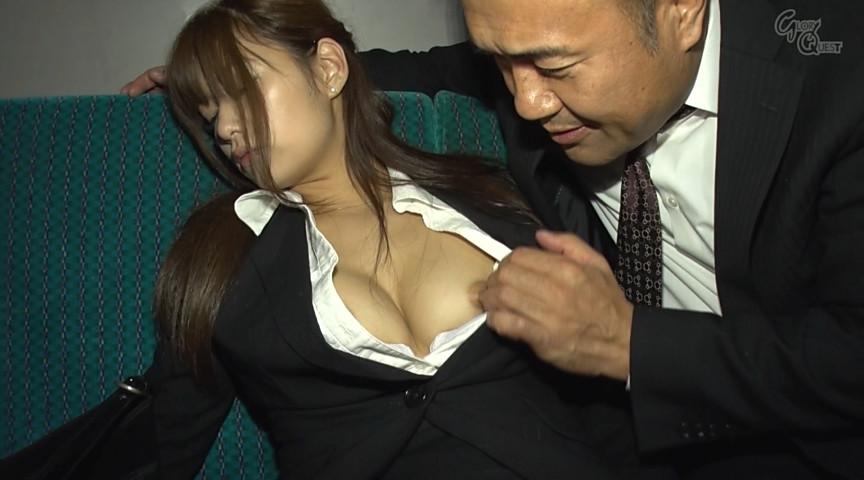 痴漢懇願変態OL 紺野ひかる