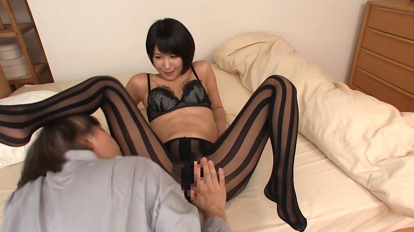 ノーパンパンスト女の着衣美尻FUCK 画像 10