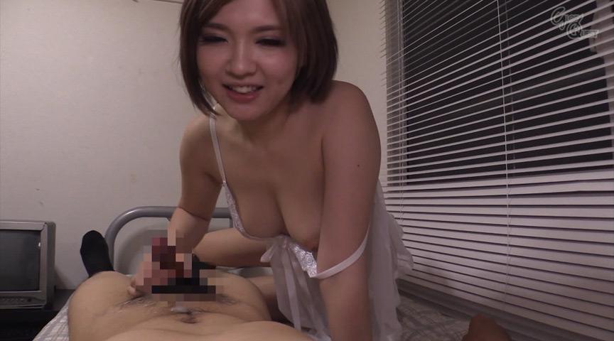 乳首舐め手コキ!!