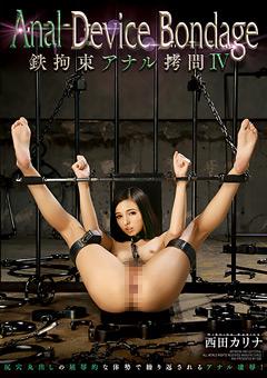 Anal Device Bondage4 鉄拘束アナル拷問 西田カリナ