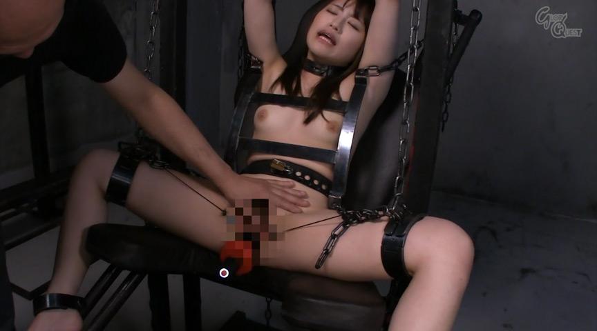 Ma○ko Device BondageIX 鉄拘束マ○コ拷問 葉月もえのサンプル画像