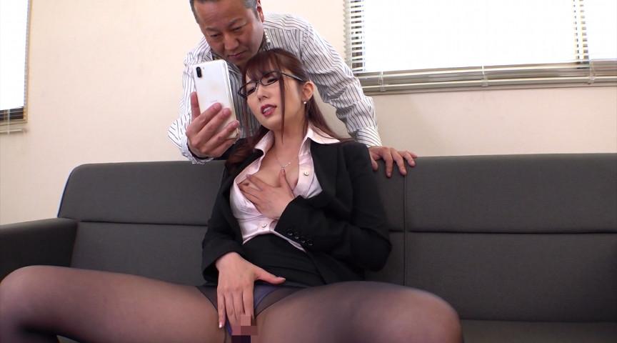 マンズリ大好き巨乳淫語秘書 波多野結衣