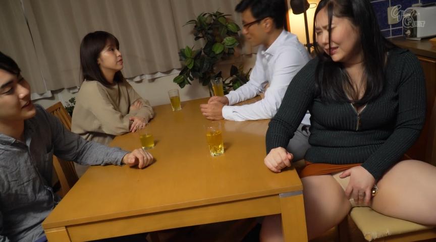 姑の卑猥過ぎる巨乳を狙う娘婿 徳島理子 画像 7