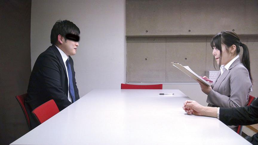 新人女性社員が面接官006のサンプル画像