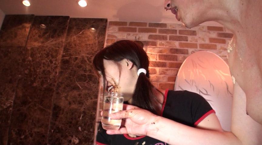 咀嚼・唾液・鼻水・尿・汗・精飲 JK体液¥交 白石陽菜 の画像17
