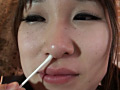 GRAV-011 咀嚼・唾液・鼻水・尿・汗・精飲 JK体液¥交 白石陽菜 無料画像8