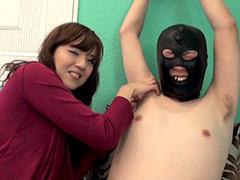 フェチ選!! M男拘束腋くすぐり拷問