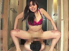 パンスト痴熟女の足裏&足指フェチ責め個人撮影 葵紫穂