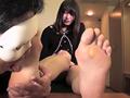 [gripav-0173] 現役素人女子大生の足裏フェチ個撮とパンスト足コキ かなみ