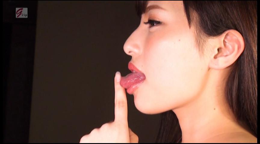 69mm長舌美形RQの美しきベロ&口腔と陶酔の鼻フェラ接吻