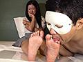 反応の良い敏感足裏と大射精に導く足コキ 篠原ゆず