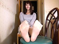 足裏:高身長奥さんのパンスト足裏フェチ&くすぐり個人撮影