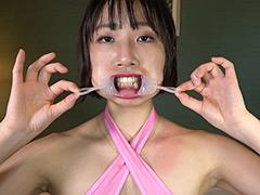 フェチ:綺麗な口腔&ASMR咀嚼とフェラの音