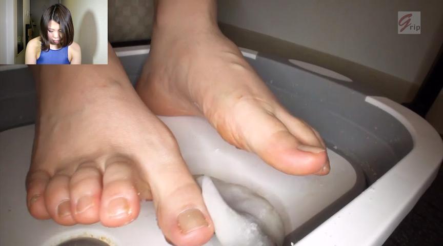 踏み踏みフードクラッシュ足指器用ガール編 画像 3