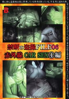 禁断の盗撮FILE06 赤外線CAR SEX4編