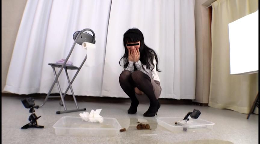 直立脱糞2 排泄実験観察シリーズ16 画像 6