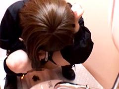 実録・面接に来た女に下剤を飲ませ排泄姿を覗いた上、ウンコを採取してみた。3