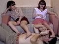超カワイイ18歳二人 初めての足踏み舐め