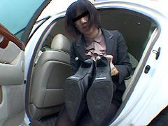 フェチ:女性専用履き潰し靴収集家20