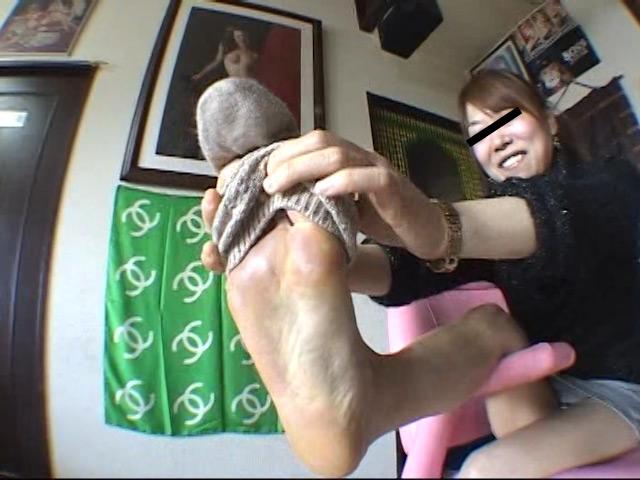美味しいナマ足舐め尽し 其の9 OLの手と足を食べました