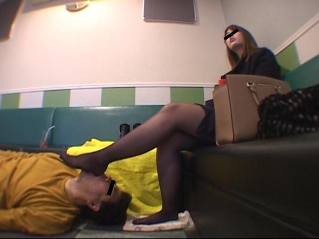 臭いパンスト&ナマ足舐め専門職1 中敷き汚れがシミついた女子大生足 の画像7
