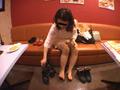 仕事後の足の汚れ舐め取り職人0-1