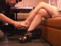 仕事後の足の汚れ舐め取り職人0-7