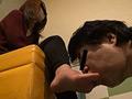 [hengenjizai-0355] 仕事後の足の汚れ舐め取り職人12