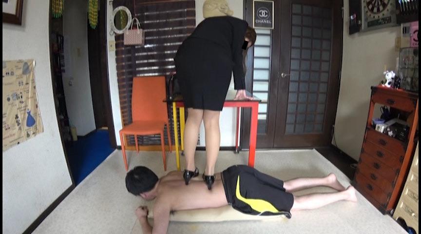 IdolLAB | hengenjizai-0425 顔蹴りで鼻血が出てパンスト足裏に付いた血を舐める