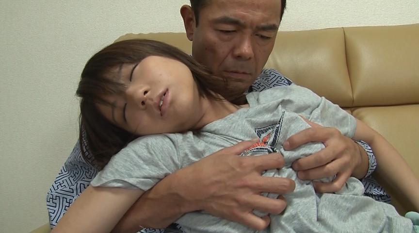 突然の甘酸っぱい娘の体に義父のチ○ポはフル勃起